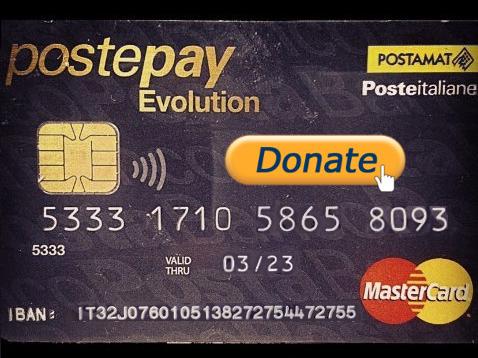 postepay donazioni elettritv