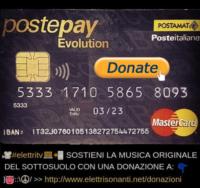 postepay evolution donazioni