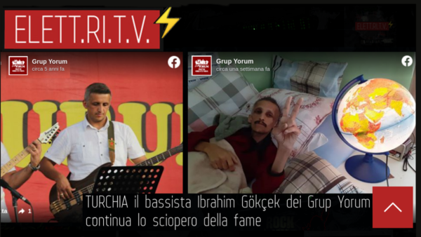 TURCHIA_Ibrahim_Gökçek_bassista_Grup_Yorum_continua_sciopero_della_fame