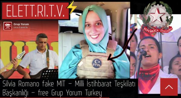 Silvia_romano_fake_Milli_İstihbarat_Teşkilatı_Başkanlığı_free_grup_yorum_turkey_turchia
