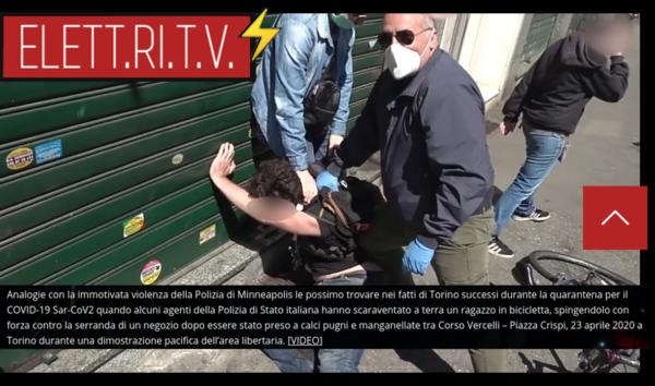 arresti_violenti_corso_vercelli_torino_quarantena_coronavirus_polizia_stato_italia_analogie_polizia_minneapolis_usa