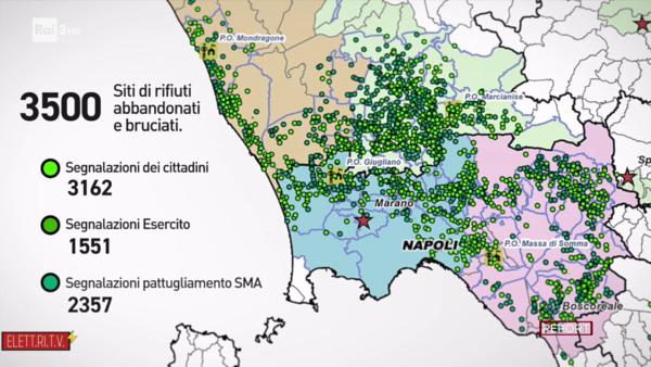 terra_dei_fuochi_mappa_segnalazioni_rifiuti_abbandonati _bruciati_sma_campania_REPORT_RAI_elettritv