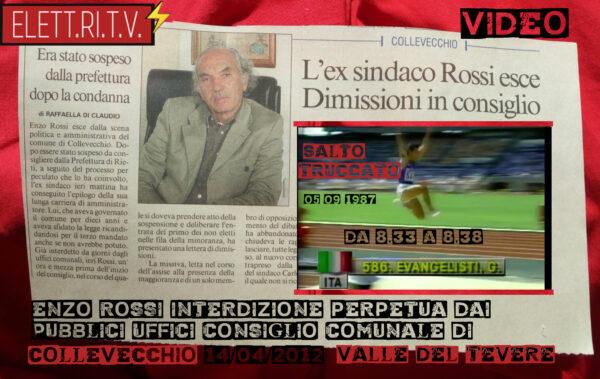 Interdizione_perpetua_pubbici_uffici_collevecchio_valle_del_tevere_morto_enzo_rossi_CONI_evangelisti