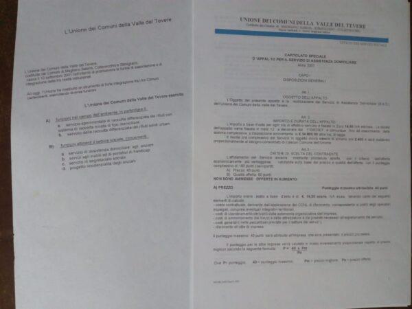 UNIONE DEI COMUNI DELLA VALLE DEL TEVERE 2007 MAGLIANO -COLLEVECCHIO - STIMIGLIANO