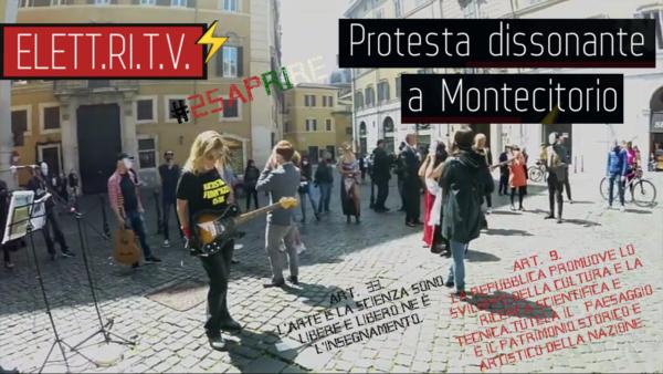 Protesta_flashmob_dissonante_musicisti_artisti_riapertura_quarantena_covid19_25_aprire_piazza_montecitorio_roma